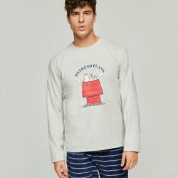 Pijama hombre Snoopy Gisela