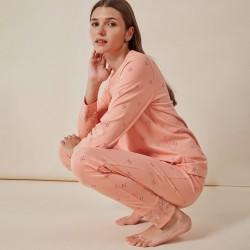 Pijama mujer algodón...