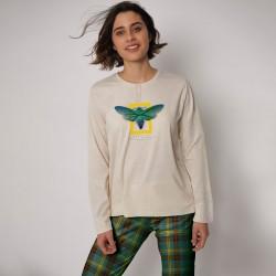 Pijama largo mujer National...