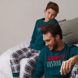 Pijama niño manga larga...