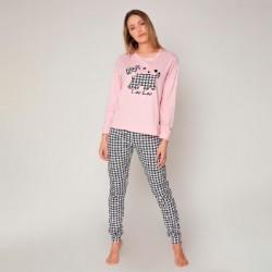 Pijama mujer afelpado Lou Lou