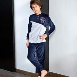 Pijama niño aterciopelado...