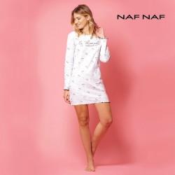 Camisón algodón mujer NAF NAF