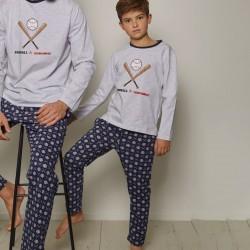 Pijama niño algodón Beisbol...