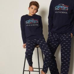 Pijama niño manga larga Admas