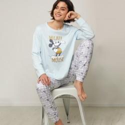 Pijama largo mujer Mickey...