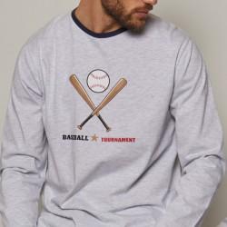 Pijama largo hombre Beisbol...