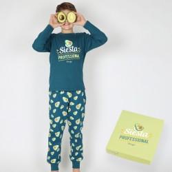 Pijama niño manga larga Mr....