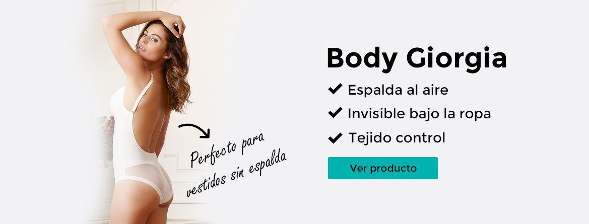 Body Giorgia - Vestidos sin espalda