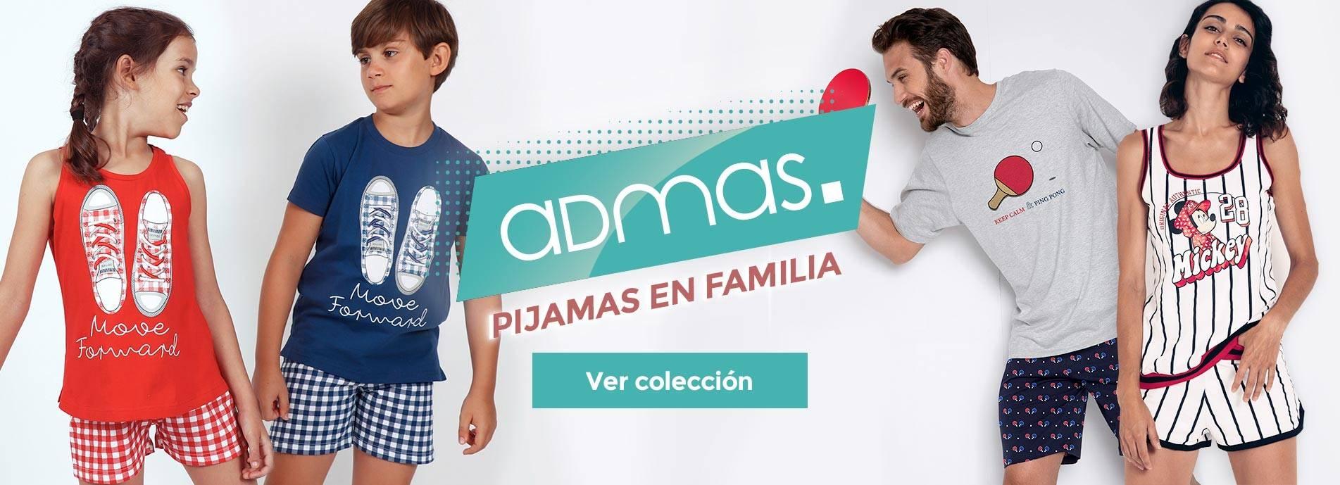 Pijamas en familia de Admas