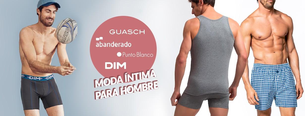 Moda íntima de hombre: DIM, Guasch, Abanderado, Punto Blanco